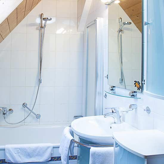 Ferienwohnung: Foto Badezimmer
