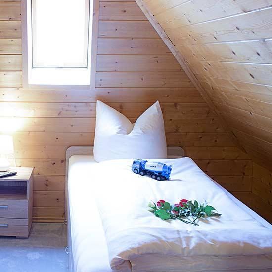 Ferienwohnung: Foto Schlafzimmer